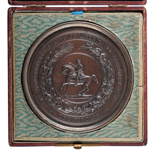 The Great Seal of the Confederate States of America, Cased