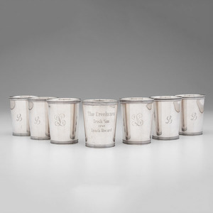 Manchester Silver Co. Sterling Julep Cups