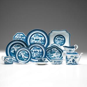 Mottahedeh Canton Porcelain Tablewares