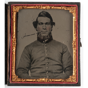 Civil War Sixth Plate Tintypes of Union Soldiers