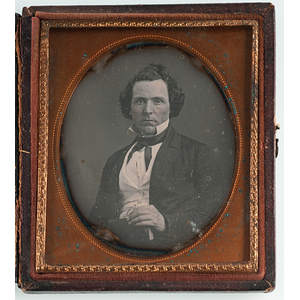Sixth Plate Daguerreotype of Dr. Edward Westbrook, Possible Confederate Staff Member