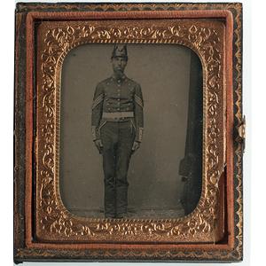 Civil War-Era Cased Tintypes of Militiamen