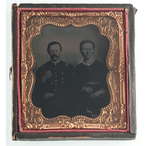 Civil War Tintypes of Union Soldiers, Including Identified Army and Navy Surgeons