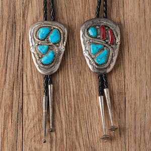 Effie Calavaza (Zuni, b. 1929) Bolo Ties with Snakes for Frustrated Herpetologists