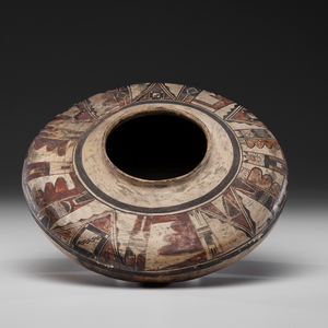 Nampeyo of Hano (Hopi, 1860-1942) Attributed Pottery Seed Jar Deaccessioned from the Western Reserve Historical Society, Cleveland, Ohio