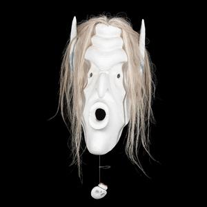 Beau Dick (Kwakwaka'wakw, b. 1955) Carved Wood Mask