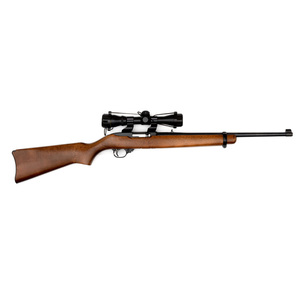**Ruger Model 10-22 Carbine With Scope