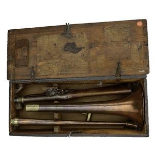 18th Century Fitzgerald's Patent Signal Trumpet, by Thomas Clio Rickman