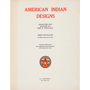 American Indian Designs by Inez Westlake, Series I and II