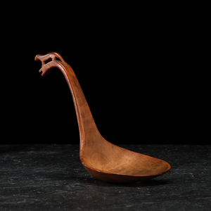 Great Lakes Figural Wood Ladle