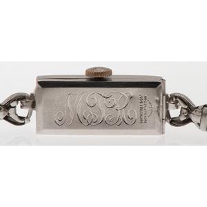 Pery Platinum and Diamond Wrist Watch
