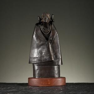 Dan Namingha (Tewa-Hopi, b. 1950) Bronze Sculpture