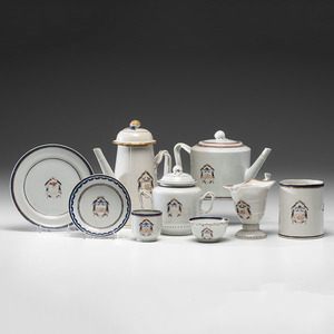 Chinese Export Armorial Porcelain for the American Market