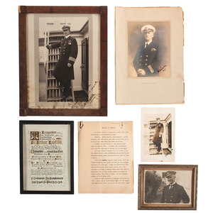 Titanic Disaster, Collection of Newspapers, Books, and More
