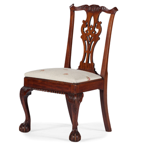 New York Chippendale Side Chair