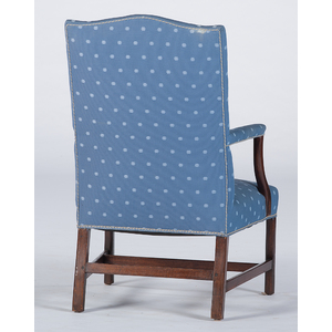 Federal Mahogany Lolling Chair