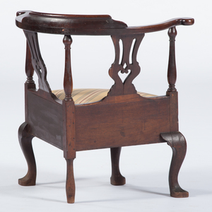 American Queen Anne Corner Chair
