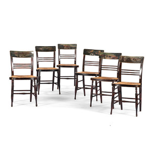 Paint-Decorated Fancy Chairs