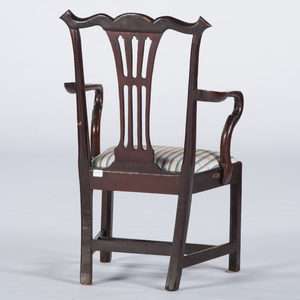 Chippendale Mahogany Armchair