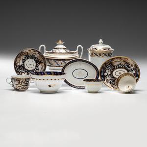 Early English Porcelain Tea Wares