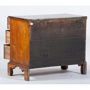 Chippendale Three Drawer Chest