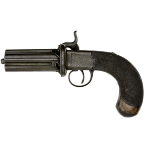 Percussion Pepperbox By Cutler