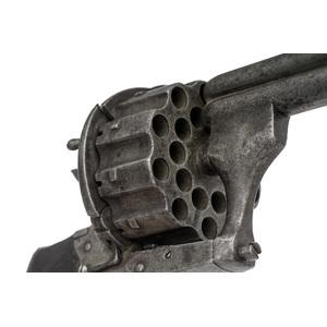 Twenty-Shot Pinfire Double Action Revolver