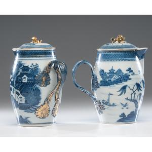 Canton Porcelain Cider Jugs