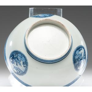 Nanking Footed Punch Bowl