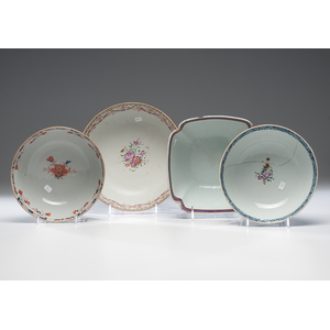 Chinese Export Punch and Fruit Bowls