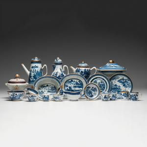 Chinese Export Canton Tablewares