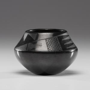 Maria Martinez and Julian Martinez (San Ildefonso, 1887-1980 / 1879-1943) Pottery Bowl