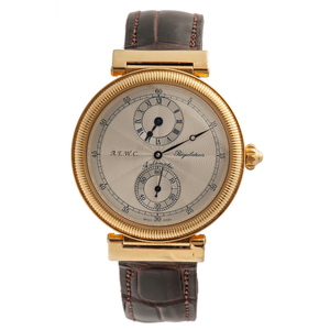 A.E.W.C. Automatic Regulator in 18 Karat Yellow Gold