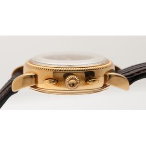 A.E.W.C. Chronograph in 18 Karat Yellow Gold