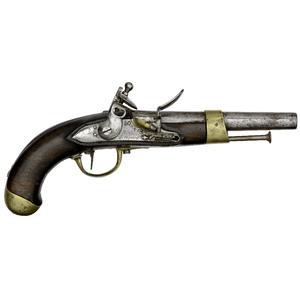 French Flintlock Mle-An-13 Military Pistol