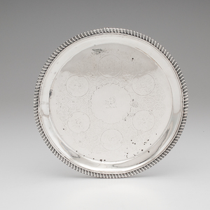 George IV Sterling Footed Salver