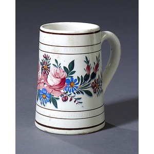 Leeds Four-Color Pearlware Can,