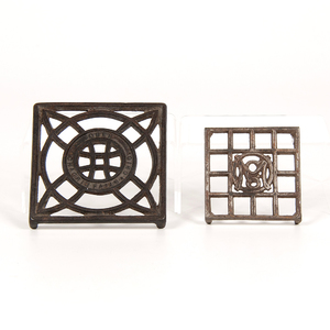 Ober Manufacturing Co. Cast Iron Trivets