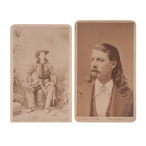 Buffalo Bill CDVs by Gurney