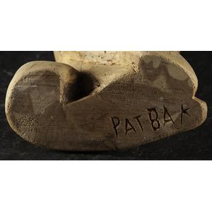Patrocino Barela (New Mexican, ca 1900-1964) Wood Sculpture