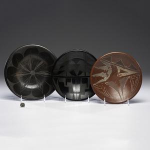 Santa Clara and Kewa Pottery Plates