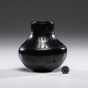 Florence Naranjo (San Ildefonso, b. 1921) Pottery Jar