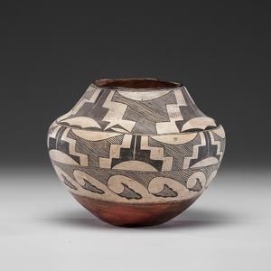 Acoma Pottery Jar From the Collection of John O. Behnken, Georgia
