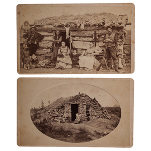 Kansas Homesteaders, Two Exceptional CDVs