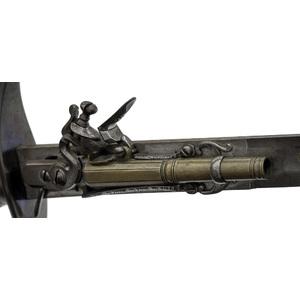 Combination Sword And Flintlock Pistol