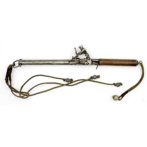 Hand Held Flintlock Pistol