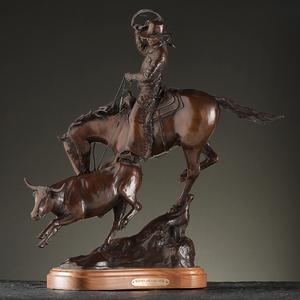 H. Clay Dahlberg (American, b. 1946) Bronze Sculpture