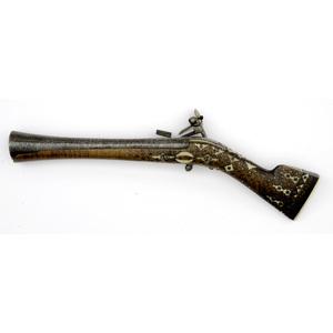 Middle-Eastern Miquelet Blunderbuss Pistol