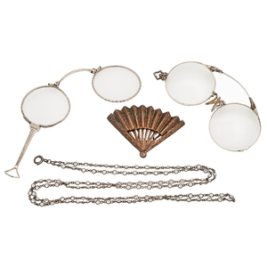Lorgnette, Spectacles and Chain PLUS