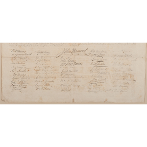 Eleazar Huntington, Declaration of Independence